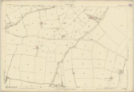 Oxfordshire V.16 (includes: Banbury; Bodicote; Broughton; North Newington) - 25 Inch Map