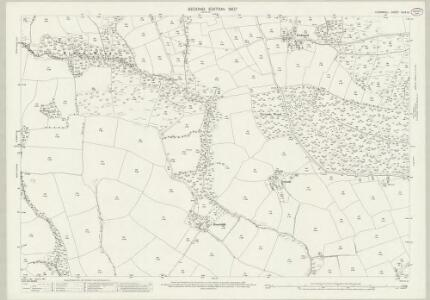 Cornwall XLIX.10 (includes: Ladock; St Enoder; St Erme) - 25 Inch Map