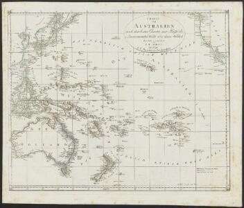 [Neuer Atlas der ganzen Erde nach den neuesten Bestimmungen ... : VII.] Australien