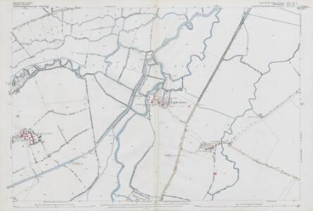 Wiltshire VI.2 (includes: Buscot; Inglesham; Kempsford; Lechlade) - 25 Inch Map