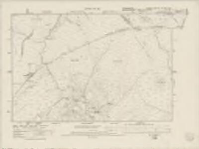 Denbighshire XXX.SE & XXXI.SW - OS Six-Inch Map
