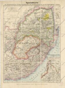 Specialkarte der Südafrikanischen- (Transvaal) Republik