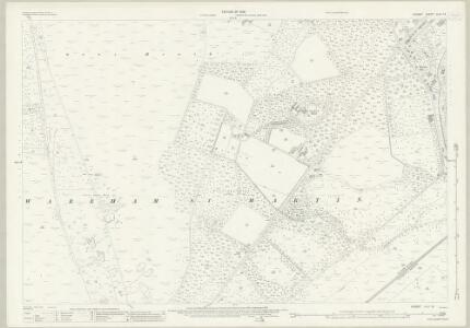 Dorset XLIII.13 (includes: Wareham St Martin) - 25 Inch Map