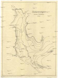 Grundwasserisohypsen der oberen Marchbeckens