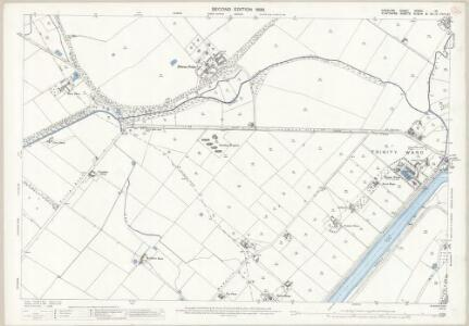 Cheshire XXXVIII.10 (includes: Chester; Sealand) - 25 Inch Map