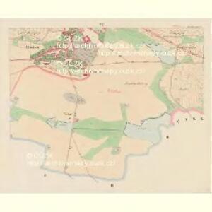 Ellischau (Malzow) - c4961-1-006 - Kaiserpflichtexemplar der Landkarten des stabilen Katasters