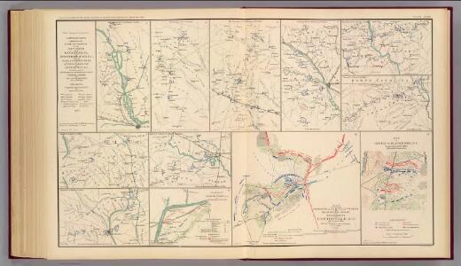 Savannah-Goldsborough campaign maps.
