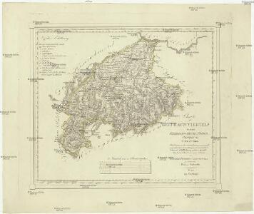 Charte des Traun Viertels in dem Erzherzogthume Niederöstreich uiber der Enns