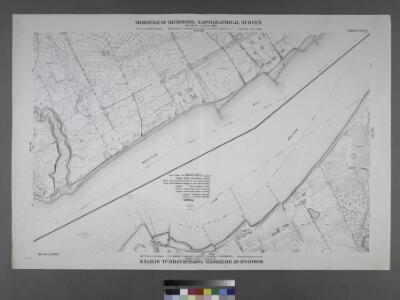 Sheet Nos. 92 & 96. [Sheet No. 92.Includes (Annadale) Woods of Arden Road and Southside Boulevard. - Sheet No. 96. Includes Huguenot Avenue, and Terra Marine Inn.]; Borough of Richmond, Topographical Survey.