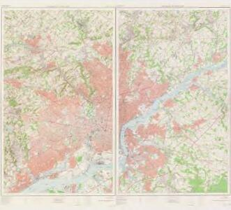 Philadelphia and vicinity, east, 1955 (and west, 1956) (Pennsylvania - New Jersey)