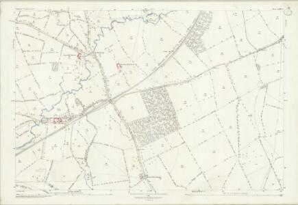 Somerset XLIII.14 (includes: Selwood; Trudoxhill; Witham Friary) - 25 Inch Map