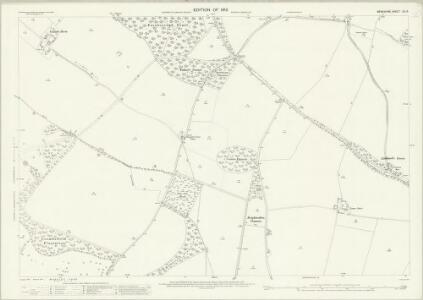 Berkshire XX.15 (includes: Brightwalton; Chaddleworth; Farnborough) - 25 Inch Map