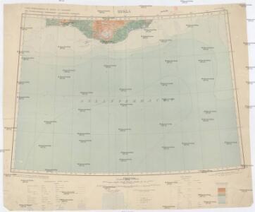 Carte internationale du monde au 1:1,000,000 E