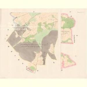Zborow - c9183-1-003 - Kaiserpflichtexemplar der Landkarten des stabilen Katasters