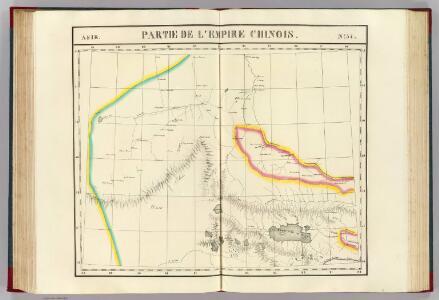 Partie, l'Empire Chinois. Asie 57.