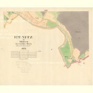 Bilnitz - m0305-1-013 - Kaiserpflichtexemplar der Landkarten des stabilen Katasters