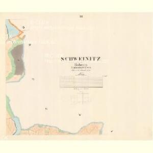 Schweinitz - c7963-1-003 - Kaiserpflichtexemplar der Landkarten des stabilen Katasters