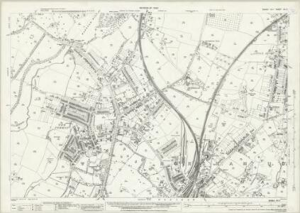 Sussex XIII.8 (includes: Horsham; Horsham Rural; Warnham) - 25 Inch Map