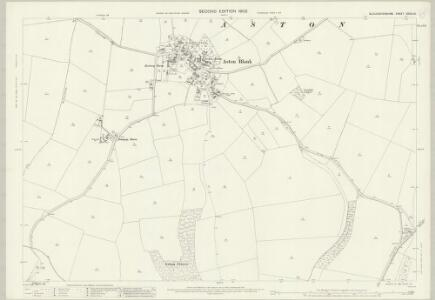 Gloucestershire XXVIII.15 (includes: Aston Blank; Bourton on the Water; Notgrove; Turkdean) - 25 Inch Map