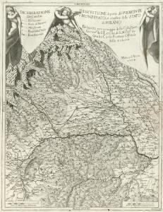 Descritione di parte del Piemonte è Monferato et confine dello Stato di Milano