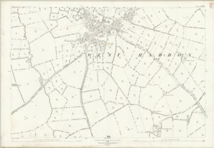 Northamptonshire XXIX.16 (includes: Watford; West Haddon) - 25 Inch Map