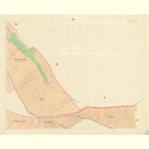 Chilitz (Chilice) - m1000-1-006 - Kaiserpflichtexemplar der Landkarten des stabilen Katasters