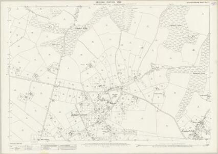 Buckinghamshire XLII.7 (includes: Little Missenden) - 25 Inch Map