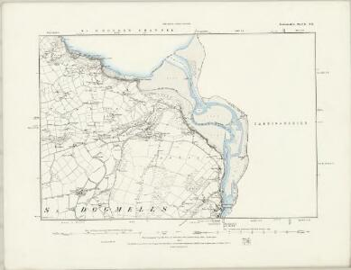 Pembrokeshire II.NW - OS Six-Inch Map