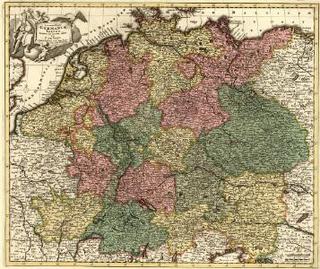 Accuratissima Germaniae Tabula Denuo in lucem edita