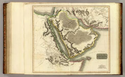Arabia, Egypt, Abyssinia, Red Sea.