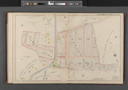 Mount Vernon, Double Page Plate No. 21  [Map bounded by California Rd., Wartburg St., Frederick Pl.] / compiled and published by John F. Fairchild.