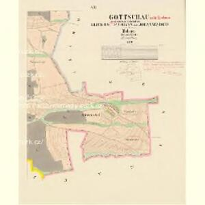 Gottschau - c3243-1-006 - Kaiserpflichtexemplar der Landkarten des stabilen Katasters