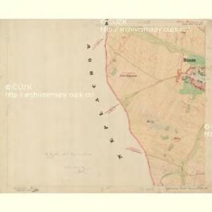 Dinin - c1639-1-006 - Kaiserpflichtexemplar der Landkarten des stabilen Katasters