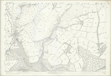 Cornwall LXXVI.12 (includes: Constantine; Mawgan in Meneage; St Martin in Meneage; Wendron) - 25 Inch Map