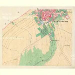 Schönberg - m3071-1-006 - Kaiserpflichtexemplar der Landkarten des stabilen Katasters