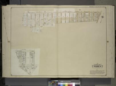 Queens, Vol. 1, Double Page Plate No. 21; Part of     Ward 4; [Map bounded by Metropolis Ave., Mill St., Vansicklen Ave., Sutter Ave., Chestnut St.; Including Metropolis Ave., Grant Ave., Rockaway Plank Road,        Clinton Ave.]; Sub Plan From Plate