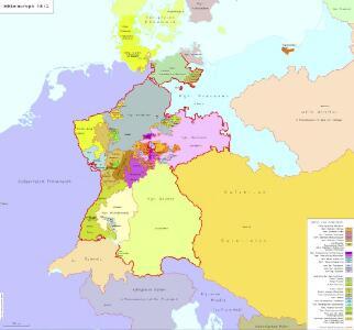 Mitteleuropa 1812