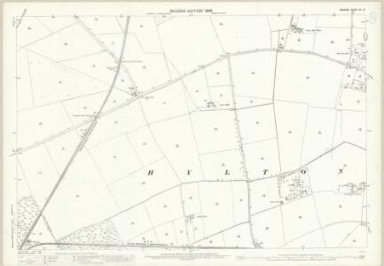 Durham VII.12 (includes: Boldon; Hylton; Sunderland; Washington) - 25 Inch Map
