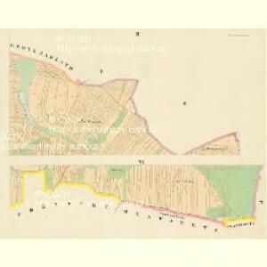 Praschiwalhotta - c0953-1-002 - Kaiserpflichtexemplar der Landkarten des stabilen Katasters