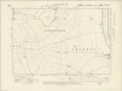 Yorkshire CCLXVII.NE - OS Six-Inch Map