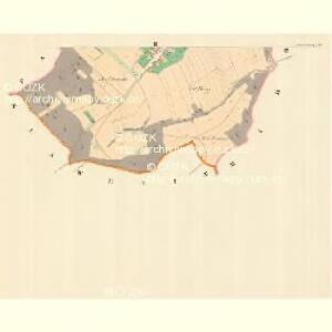 Hradetschny - m0889-1-002 - Kaiserpflichtexemplar der Landkarten des stabilen Katasters