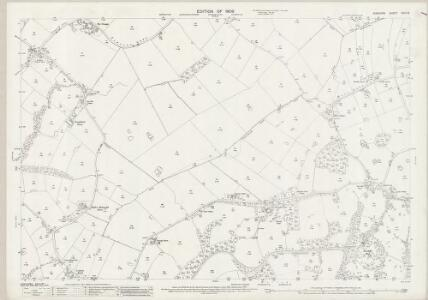 Cheshire XVIII.16 (includes: Manchester; Ringway; Wilmslow) - 25 Inch Map
