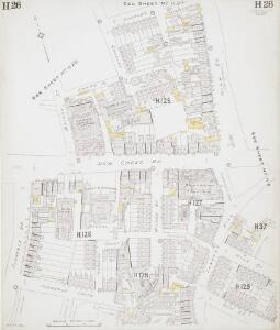 Insurance Plan of London East South-East District Vol. H: sheet 26
