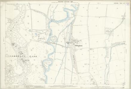 Hampshire and Isle of Wight LXX.3 (includes: Ellingham; Harbridge and Ibsley) - 25 Inch Map