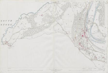 Wiltshire XXXI.15 & 16 & XXXVIIIa.4 (includes: Freshford; Hinton Charterhouse; Limpley Stoke; Monkton Combe; South Stoke; Wellow; Winsley) - 25 Inch Map