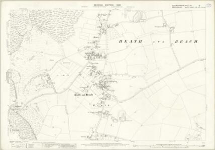 Buckinghamshire XX.12 (includes: Heath and Reach; Leighton Buzzard) - 25 Inch Map
