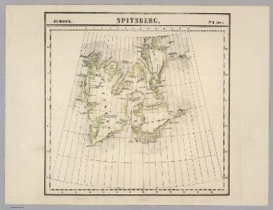 Spitsberg. Europe 1 ter.