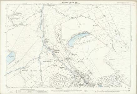 Northumberland (Old Series) CXI.3 (includes: Allendale Common; Allendale) - 25 Inch Map