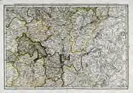 Quatrieme feuille contenant une partie de l'Orleanois, Berry, Nivernois, Bourbonnois, Auvergne, Lyonnois, Bourgogne, et Franche Comté