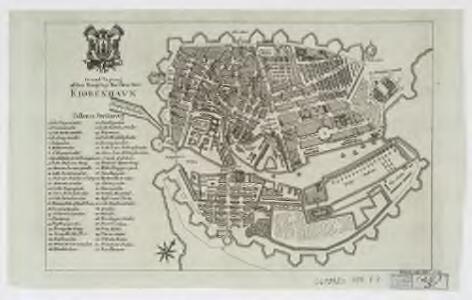 Grund tegning af den kongelige reisdenz stad Kiøbenhavn